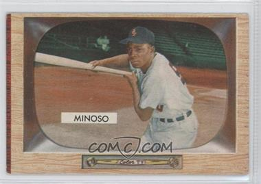 1955 Bowman - [Base] #25 - Minnie Minoso