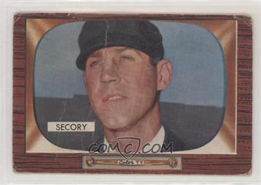 1955 Bowman - [Base] #286 - Frank Secory [PoortoFair]