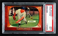 Tommy Byrne (Mickey Mantle in Background) [PSA 7 NM]