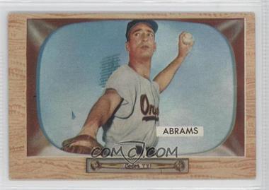 1955 Bowman - [Base] #55 - Cal Abrams
