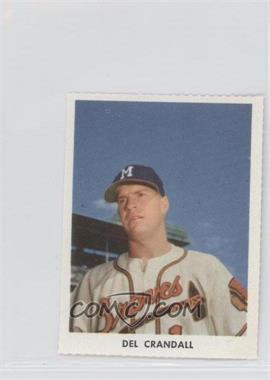 1955 Golden Stamps Milwaukee Braves - [Base] #N/A - Del Crandall