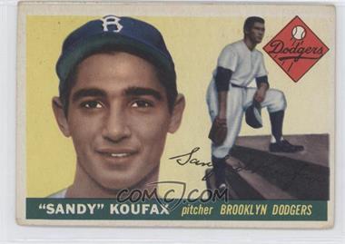 1955 Topps - [Base] #123 - Sandy Koufax