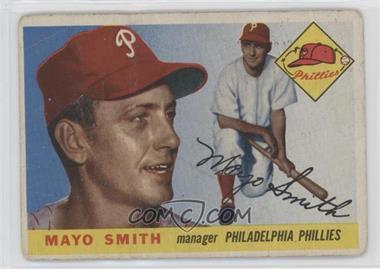 1955 Topps - [Base] #130 - Mayo Smith [Poor]