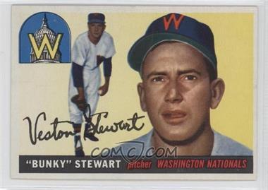 1955 Topps - [Base] #136 - Bunky Stewart