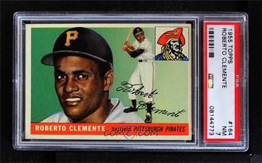 1955 Topps - [Base] #164 - High # - Roberto Clemente [PSA7NM]