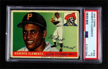 1955 Topps - [Base] #164 - Roberto Clemente [PSA3VG]