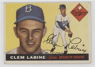 1955 Topps - [Base] #180 - Clem Labine [GoodtoVG‑EX]