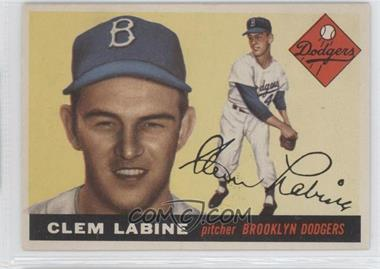 1955 Topps - [Base] #180 - Clem Labine