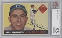 High # - Gil Hodges [BVG 5.5 EXCELLENT+]