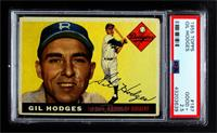 High # - Gil Hodges [PSA 2.5 GOOD+]