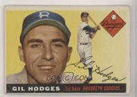High # - Gil Hodges [Poor to Fair]