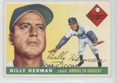 1955 Topps - [Base] #19 - Billy Herman