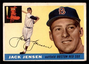 1955 Topps - [Base] #200 - High # - Jackie Jensen [VG]