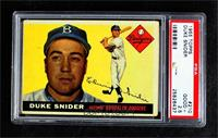 Duke Snider [PSA 2.5 GOOD+]