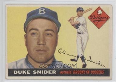 1955 Topps - [Base] #210 - Duke Snider