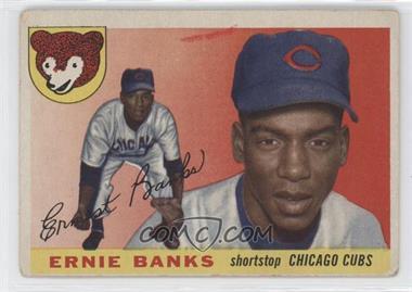1955 Topps - [Base] #28 - Ernie Banks