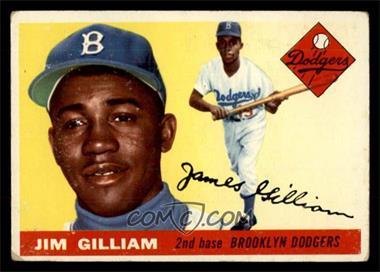 1955 Topps - [Base] #5 - Jim Gilliam [VG]