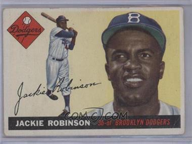 1955 Topps - [Base] #50 - Jackie Robinson [GoodtoVG‑EX]