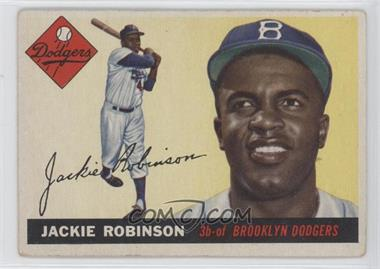 1955 Topps - [Base] #50 - Jackie Robinson
