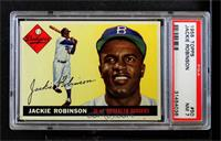 Jackie Robinson (Full Diamond Upper Left Corner) [PSA 7 NM]