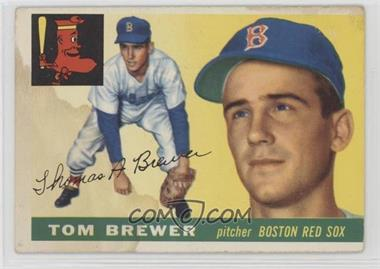 1955 Topps - [Base] #83 - Tom Brewer [PoortoFair]