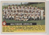 Baltimore Orioles Team (Gray Back, Team Name Centered) [Good to VG…