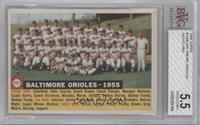 Baltimore Orioles Team (White Back, Team Name and Year) [BVG5.5]