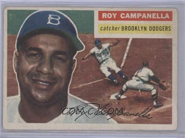 1956 Topps - [Base] #101.1 - Roy Campanella (Gray Back) [Good to VG‑EX]