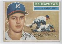 Eddie Mathews (White Back)