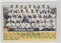 Chicago Cubs Team (Gray Back, Team Name Centered) [Good to VG‑E…