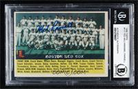 Boston Red Sox Team (Gray Back) [JSACertifiedEncasedbyB…