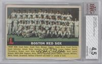 Boston Red Sox Team (Gray Back) [BVG 4.5]