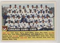 Chicago Cubs Team (White Back, Team Name and Year)