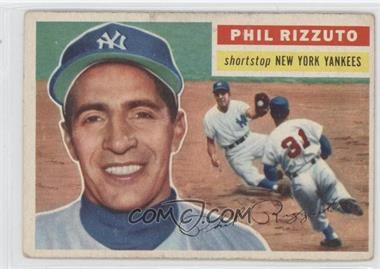 1956 Topps - [Base] #113.1 - Phil Rizzuto (Grey Back)