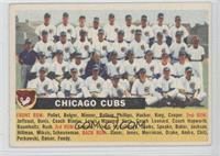 Chicago Cubs Team (White Back, Team Name Centered)
