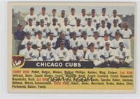 Chicago Cubs Team (White Back, Team Name Centered)