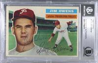 Jim Owens (Gray Back) [BASCertifiedBGSEncased]