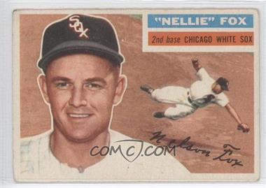 1956 Topps - [Base] #118.1 - Nellie Fox (Gray Back) [Good to VG‑EX]