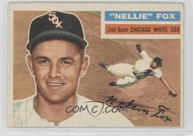 1956 Topps - [Base] #118.1 - Nellie Fox (Gray Back)