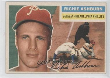 1956 Topps - [Base] #120.1 - Richie Ashburn (Gray Back) [GoodtoVG‑EX]
