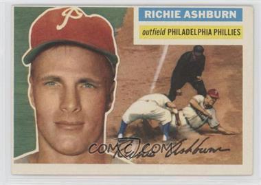 1956 Topps - [Base] #120.1 - Richie Ashburn (Gray Back)