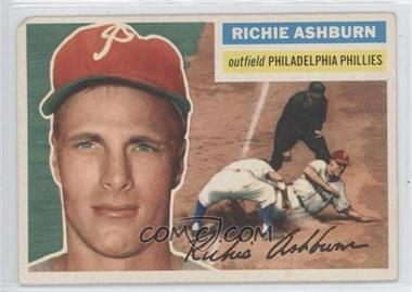 1956 Topps - [Base] #120.1 - Richie Ashburn (Gray Back)
