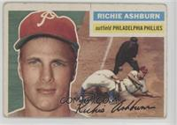 Richie Ashburn (White Back) [Poor to Fair]