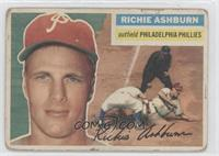Richie Ashburn (White Back) [Good to VG‑EX]