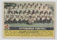 Pittsburgh Pirates Team (Gray Back) [Good to VG‑EX]