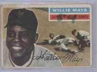 Willie Mays (Gray Back) [Poor to Fair]