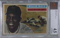 Willie Mays (Gray Back) [BVG 4.5 VG‑EX+]