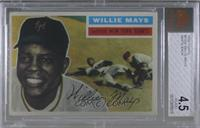 Willie Mays (White Back) [BVG 4.5 VG‑EX+]