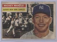 Mickey Mantle (Gray Back) [Poor to Fair]