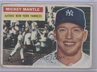 Mickey Mantle (White Back) [Poor to Fair]